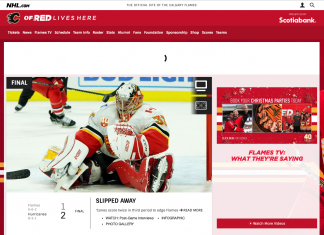 watch the calgary flames without cable