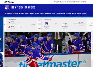 Watch the New York Rangers
