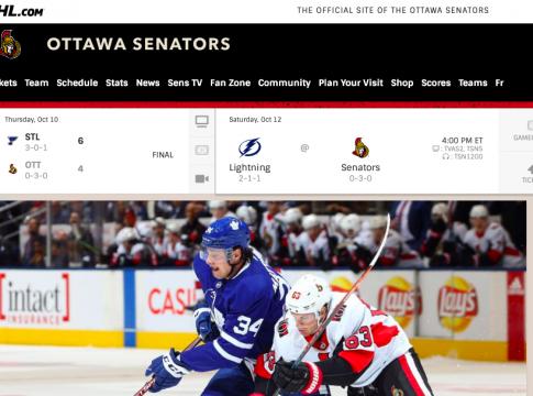 Watch Ottawa Senators