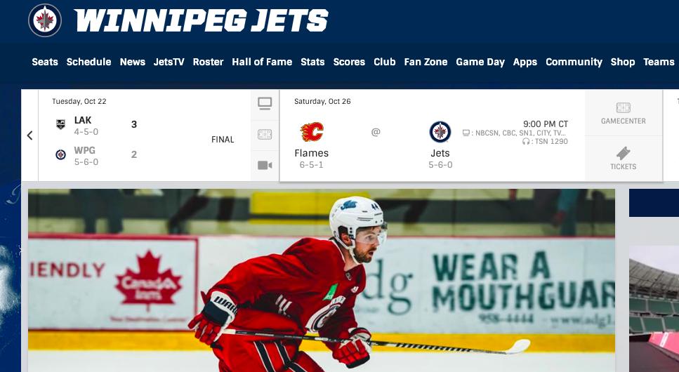 Watch the Winnipeg Jets