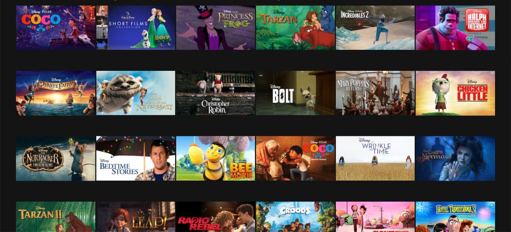 watch disney movies and tv shows online netflix disney+ plus
