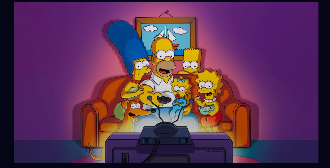 The Simpsons on Disney+