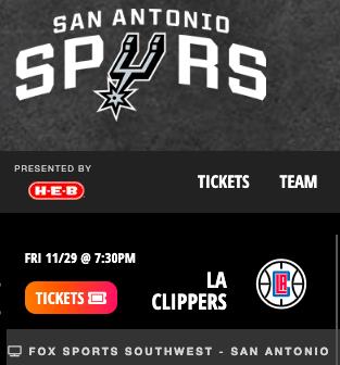 Watch the San Antonio Spurs