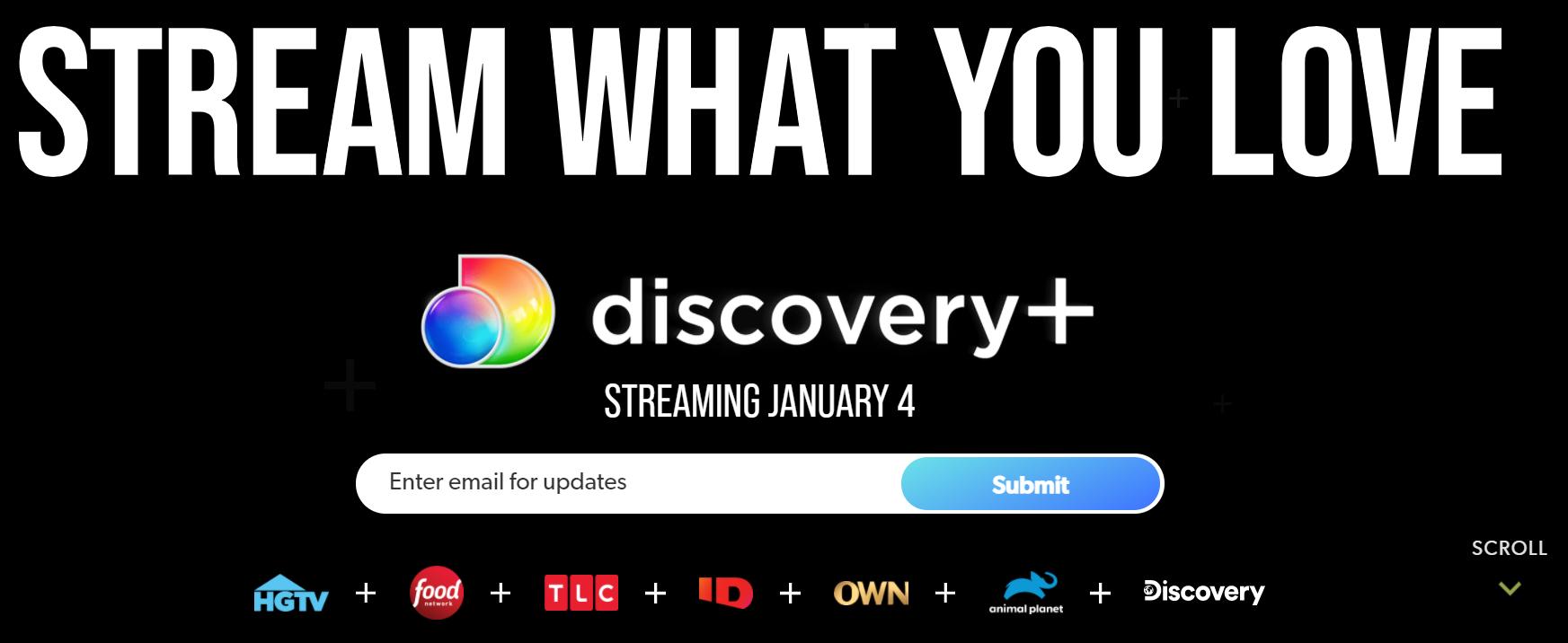 Discovery+ hulu + live tv alternatives