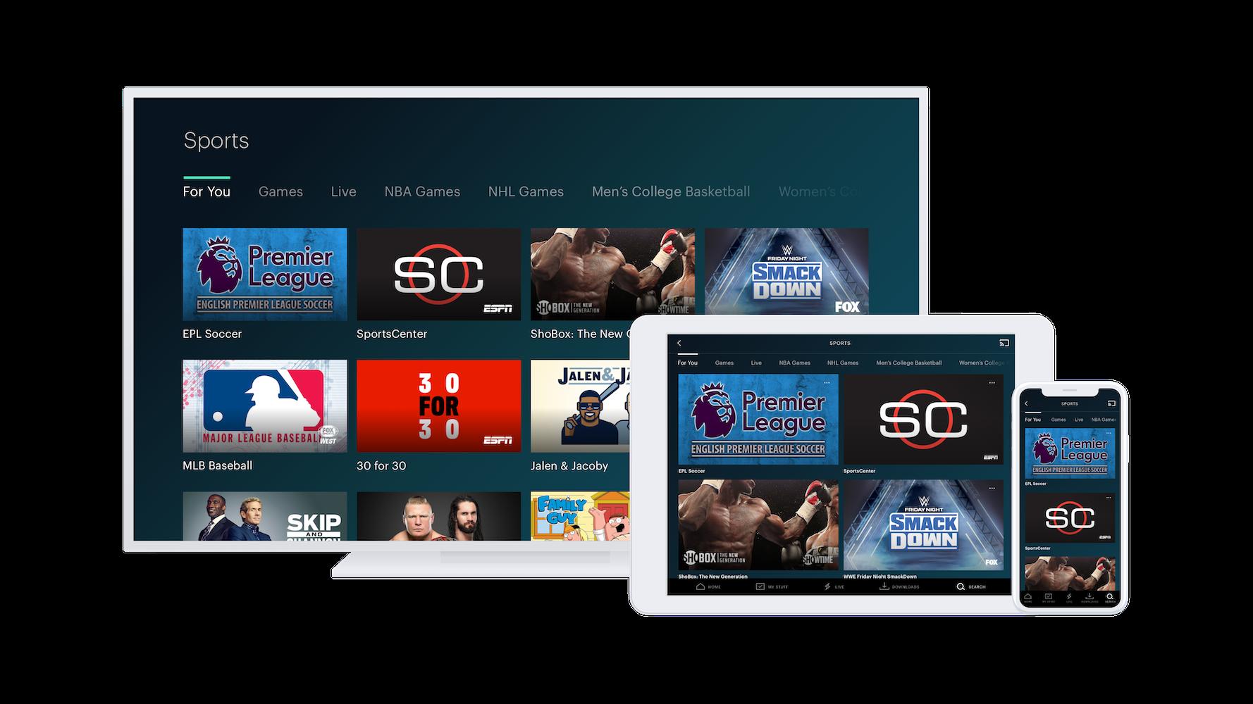 Sport on Hulu