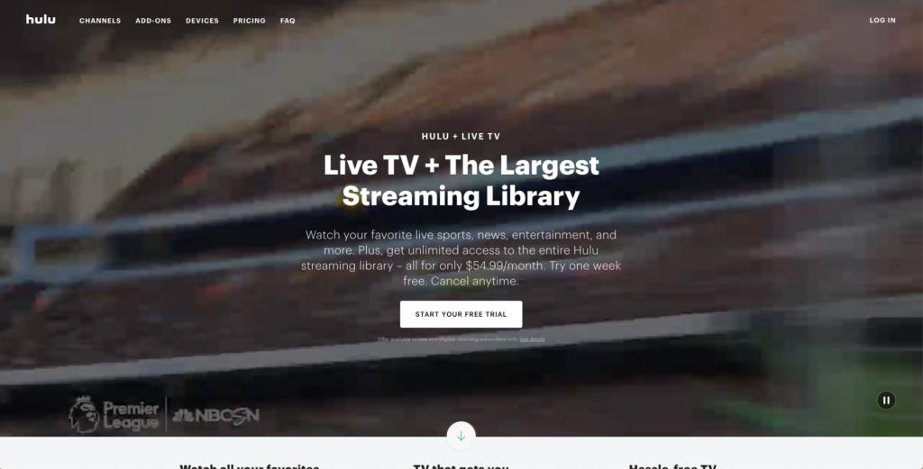 hulu with live tv msnbc news live stream