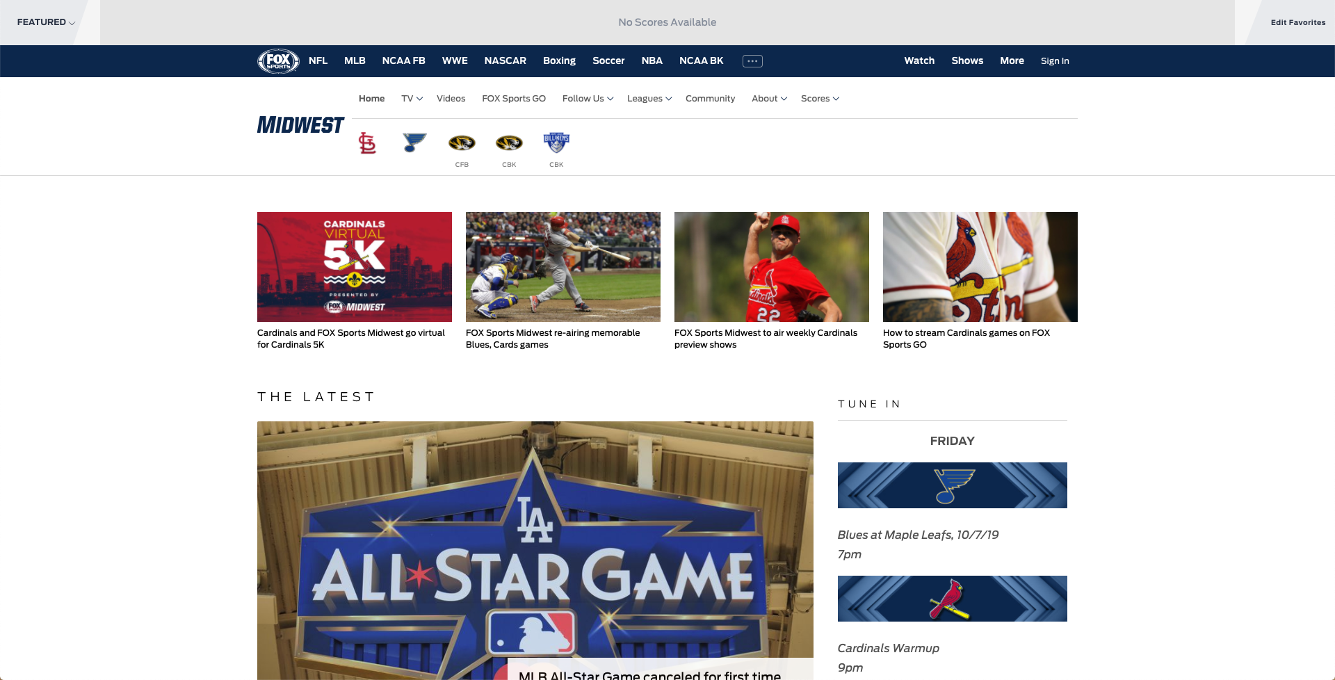 How To Watch Fox Sports Midwest Live Without Cable 2021 – Top Option