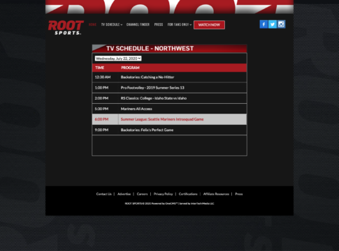 watch root sports northwest without cable