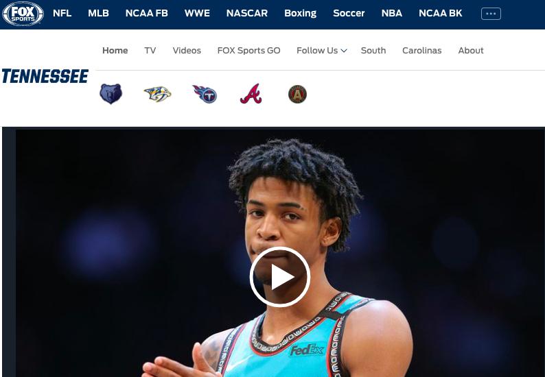 Watch Fox Sports Tennessee