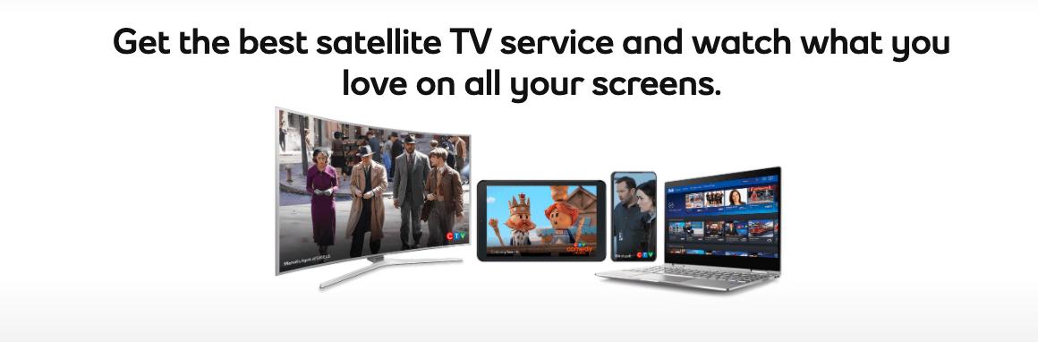 Satelllite TV from Bell