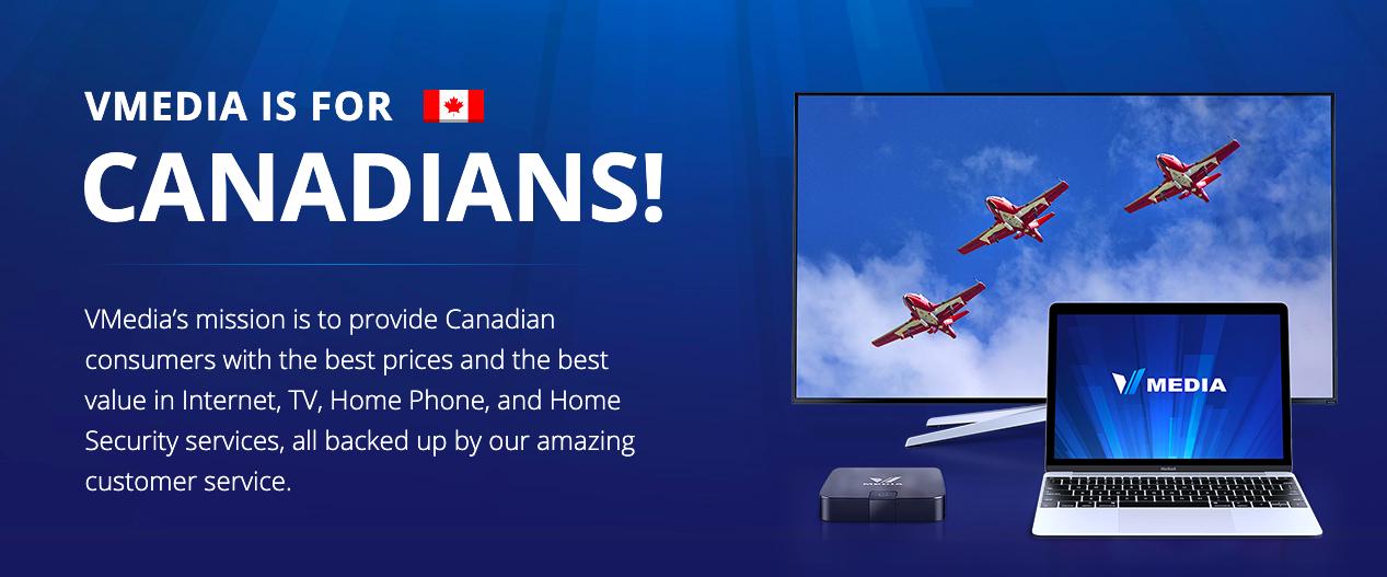 VMedia loves Canadians