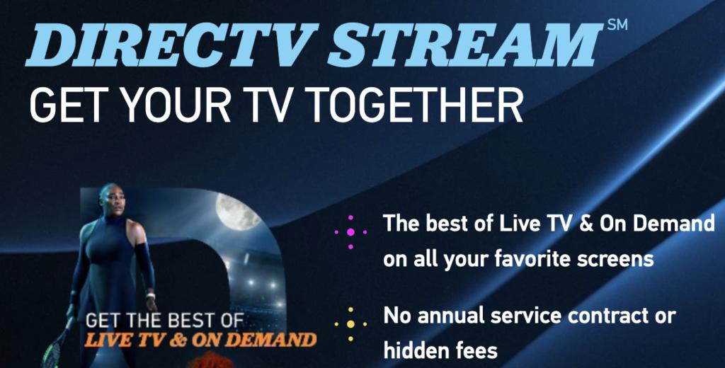 DirecTV Stream philo alternatives