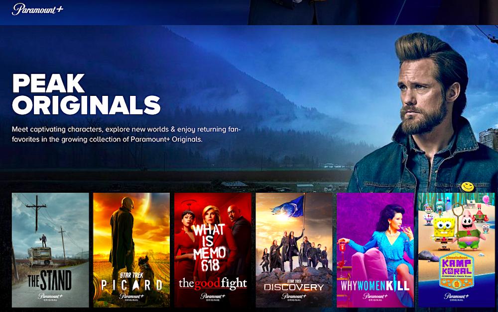 Original Shows on Paramount+