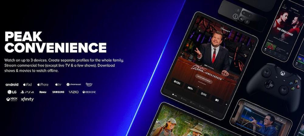 Paramount+ on Roku, FireTV and more