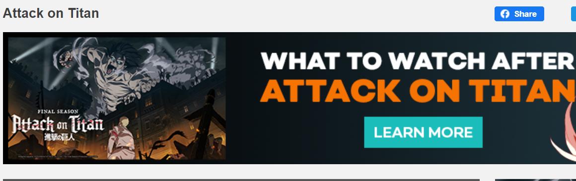 attack on titan crunchyroll