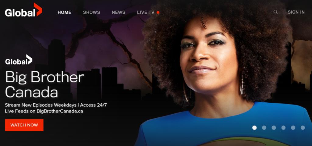 global tv website