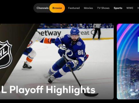 NHL Playoffs Peacock