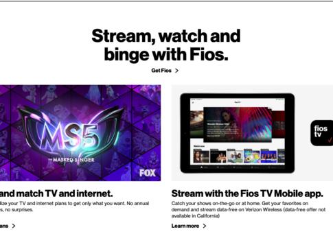 watch live tv verizon fios cable alternative