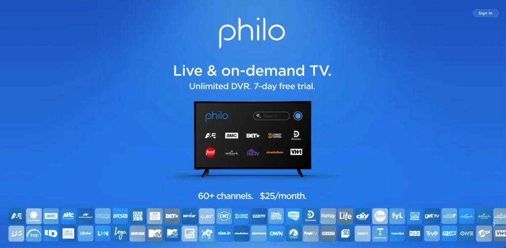 watch live tv verizon fios alternative philo