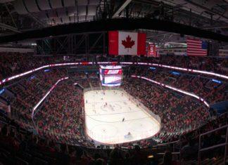 NHL hockey game Maple Leafs