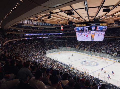 Madison Square Garden NHL Hockey